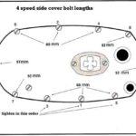 4 speed side cover bolt lengths - left