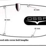 4 speed side cover bolt lengths -right