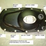 Case Screw Lengths and Position on Small Clutch Covers